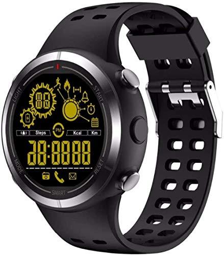 JSL Outdoor Smart Watch Uomini s Bluetooth Smart Watch Remote Camera Allarme Cronometro Calorie Pedometro IP67 Impermeabile Funzione C-A