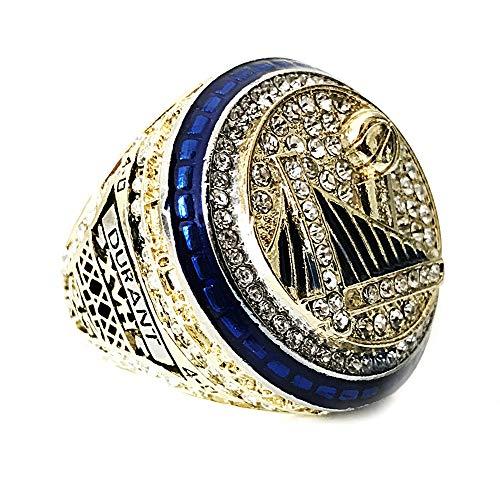 Fei Fei NBA 2017 Warriors Durant Championship Ring Anillos de Campeonato Personalizado para Fanáticos Día de San Valentín,with Box,13