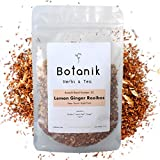 Loose Leaf Herbal Tea - Lemon Ginger Rooibos | Blend #02 | Organic Ingredients | Premium Small Batch by Botanik Herbs & Tea | No Caffeine