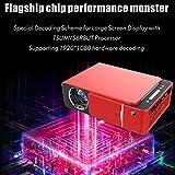 T6+ Android Smart Projector 8GB 1GB Ram HD 3D 4K WiFi Bluetooth miracast