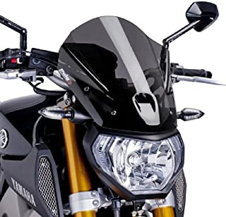 Puig 6861F Dark Smoke WindShield (New Gen Touring Yamaha Fz-07 14'-17')