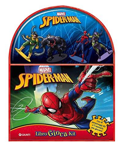 Spider-Man. Libro gioca kit