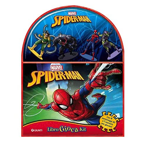 Spider-Man. Libro gioca kit