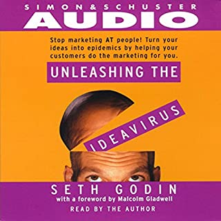 Unleashing the Ideavirus audiobook cover art