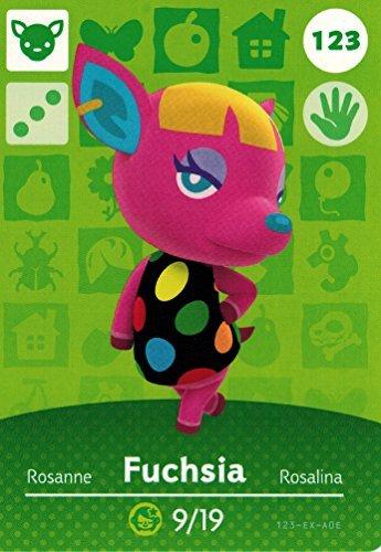 Nintendo Animal Crossing Happy Home Amiibo Designer Fuchsia Ranking TOP8 Card Limited price sale