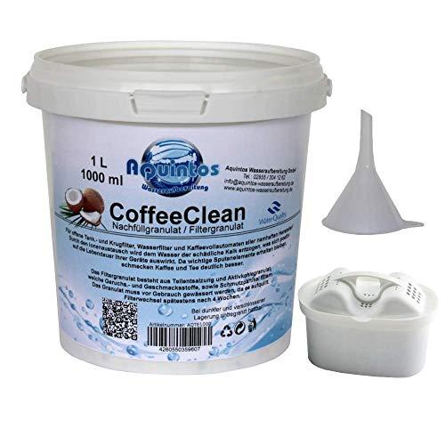 Kompatibler Ersatz für Tischwasserfilter Brita Maxtra PearlCo Unimax Dafi Aquaphor Maxfor Tassimo T55-T85 Anna Wasserkocher Russell Hobbs Nachfüll Refill Set 1L