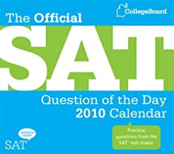 The Official SAT Question of the Day 2010