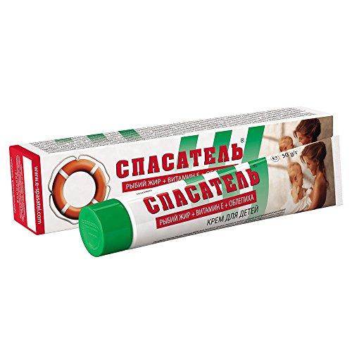 Creme ?Retter? für Kinder mit Fischöl + Vitamin E + Sanddorn