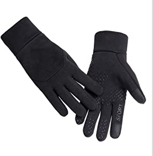 GL Sport Gloves Touchscreen Windproof Thermal for Running Riding Driving Texting Cycling Skating Skiing Hiking Climbing Unisex Women and Men