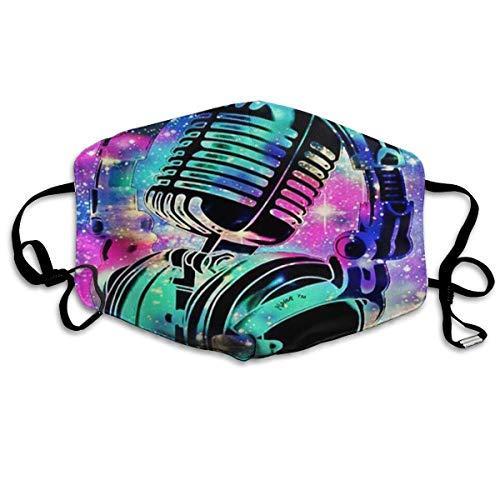 Herbruikbare Filter Vervanging Stofdichte Sport Neus Mond Bescherming UV Schutz Voor Vrouwen Mannen Gezicht Cover Kleurrijke Headset Microfoon