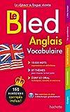 Bled Vocabulaire Anglais