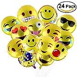 BESTOMZ Party Luftballons Gesichtsausdruck Balloons für Party Zur Dekoration