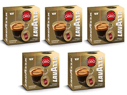 Lavazza A Modo Mio Oro Coffee Capsules (5 Packs of 12)