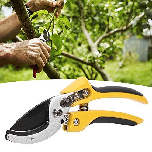 AMONIDA 11.0x3.9x1.2in Tijeras de podar de Pulido ultrafinas Que ahorran Esfuerzo y Alta eficiencia Herramientas de jardín prácticas Tijeras de podar para poda de árboles frutales
