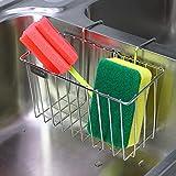 Kitchen Sponge Holder, Aiduy Sink Caddy Brush...