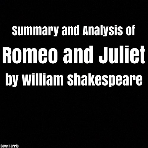 Page de couverture de Summary and Analysis of Romeo and Juliet by William Shakespeare