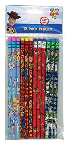Disney Pixar Toy Story 4-12 Wood Pencils Pack