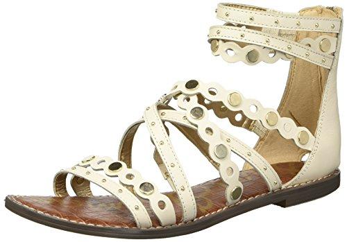 Sam Edelman Women's Geren Sandal, Modern Ivory, 5 M US