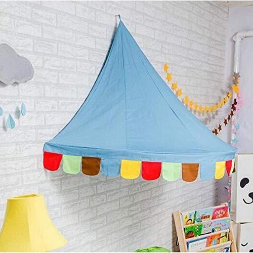 FOLOSAFENAR 591 * 31.5 * 29.5 Pouces Premium Material Princess Petite Tente de Jeu de scène, adaptée à l'amusement des Enfants en intérieur avec Tige en Fibre