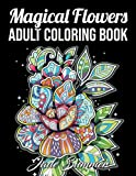 Adult Coloring Book: 50 Relaxing Flower Designs with Mandala Inspired...