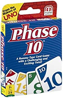 Mattel Phase 10 W4729 Card Game