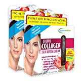 Applied Nutrition Liquid Collagen Skin Revitalization, 10 Count 3.35 Fl Oz (2 Pack)