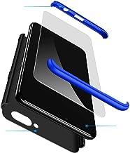 Smfu Case Compatible Oppo K1/R15x/RX17 Neo Case Slim Shockproof Non-Slip Case with Screen protector2 Case Bumper 360 Degre...