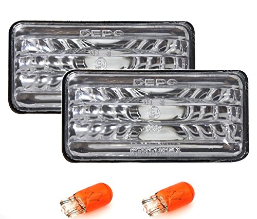 AD Tuning GmbH & Co. KG 960044 Seitenblinker Set, Silber