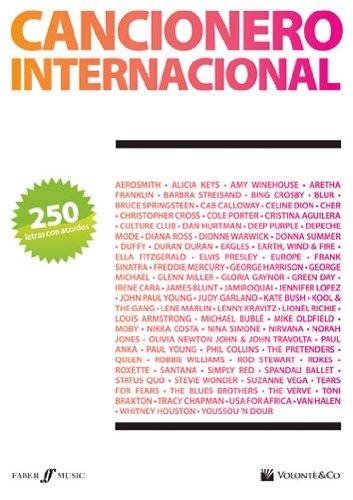 CANCIONERO - Cancionero Internacional (250 Letras y Acordes