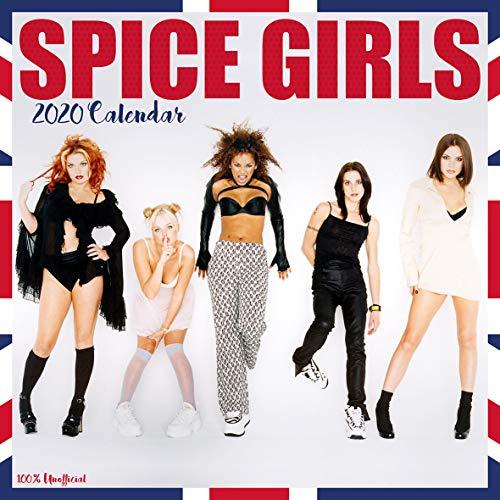 The Spice Girls 2020 Wandkalender, 30,5 x 30,5 cm, quadratisch, mit gratis Poster, das perfekte Geburtstags- oder Weihnachtsgeschenk