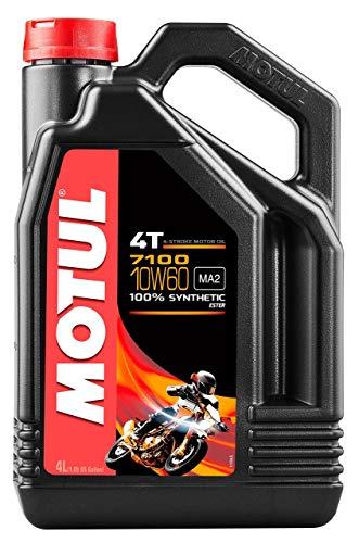 MOTUL 7100 4T 4-TAKT Ester Motoröl ÖL 10W60 Motorrad API SL SM SN MA2 4 Liter