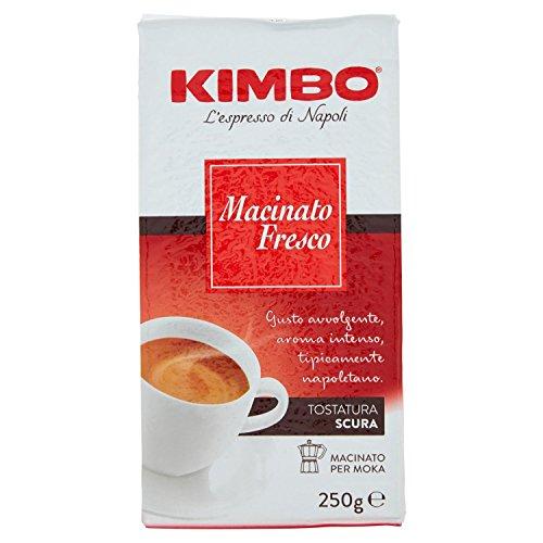 Kimbo Macinato Fresco Caffè Macinato, 250g