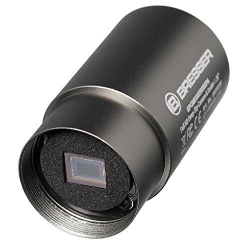 Bresser Teleskop Full HD Deep-Sky Kamera mit ST4 Autoguider, Allround-Kamera mit SONY IMX290 Farb-Sensor und hoher Quanteneffizienz von bis zu 77% inklusive Zubehör und Software