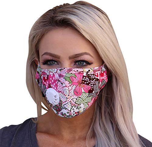 Reusable Cotton N99 Mask Blocking Pollution, Viruses, Germs, Pollen, and Dust