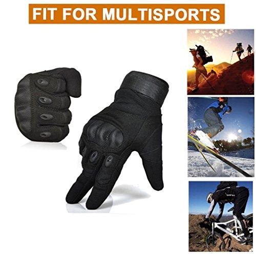 Freemaster Herren Outdoor-/Sport-Handschuhe, ganze Finger, zum arbeiten, für die Jagd und fürs Motorrad-/Radfahren, Klettern, Skilanglaufen, Handschuhe - 6