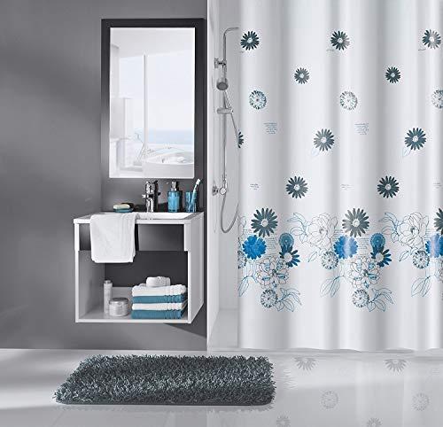 Meusch Duschvorhang, Blau