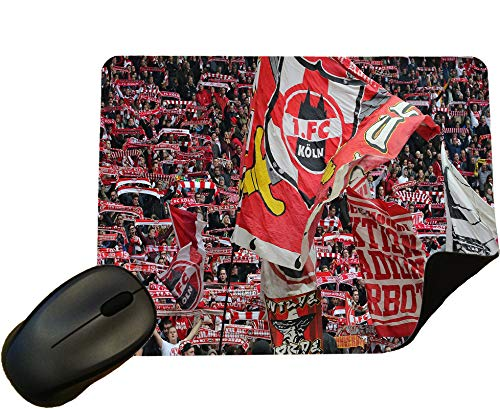 FC Koln Football Crowd Mouse Mat/Mouse Pad by Eclipse Gift Ideas
