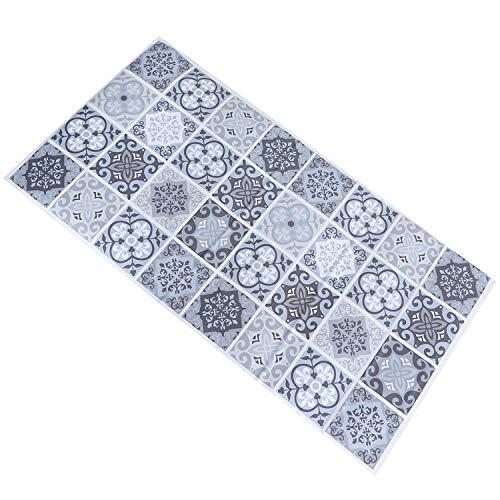 Gesh Pegatinas antideslizantes resistentes al desgaste, resistentes al agua, para el suelo, 120 x 60 cm