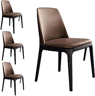Sillas de Cocina de Madera Maciza (Fresno) Silla de Comedor Juego de 2 4 6 sillas de Comedor ergonómicamenteB4