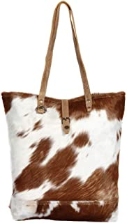 Myra S1285 Chestnut Hair On Tote Bag