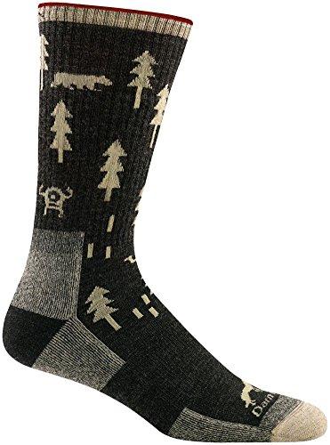 Darn Tough ABC Boot Cushion Sock - Men's Black Medium
