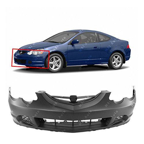 MBI AUTO - Primered, Front Bumper Cover Fascia for 2002 2003 2004 Acura RSX 02 03 04, AC1000143