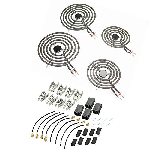 Supplying Demand MP21YA MP15YA Electric Range Burner Kit 8 Pc. With Plugs 330031