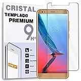 REY Protector de Pantalla para ZTE Blade V9, Cristal Vidrio Templado Premium