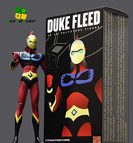 Move The Gadget Estatua Pilot Duke Fleed (Daisuke) 20 cm. UFO Robot Grendizer. Edición Limitada