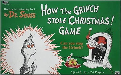 How the Grünch Stole Christmas Game by University Games