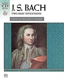 Bach -- Two-Part Inventions: Book & CD (Alfred Maste
