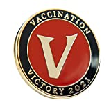 "✅ I GOT MY COVID-19 VACCINE PIN: We think ""I support the vaccination effort"" could be the new ""I voted"" - at least until the pandemic is over - and we're exploring this idea as one of many ways to encourage all of us to get vaccinated. Everyone can w..."