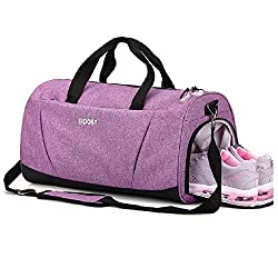Boost Sports gym bag with wet pocket and shoe compartment