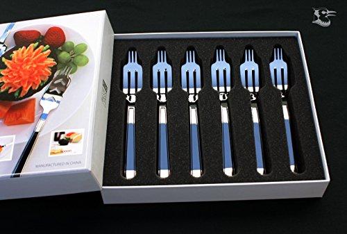Dessert Fork Gift Package 6pcs. Time Tunnel
